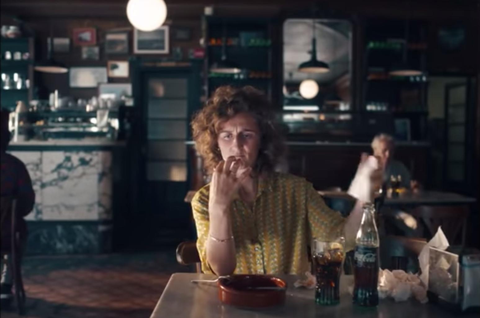 Una coneguda marca de refrescos va rodar un anunci al Bar Catalunya