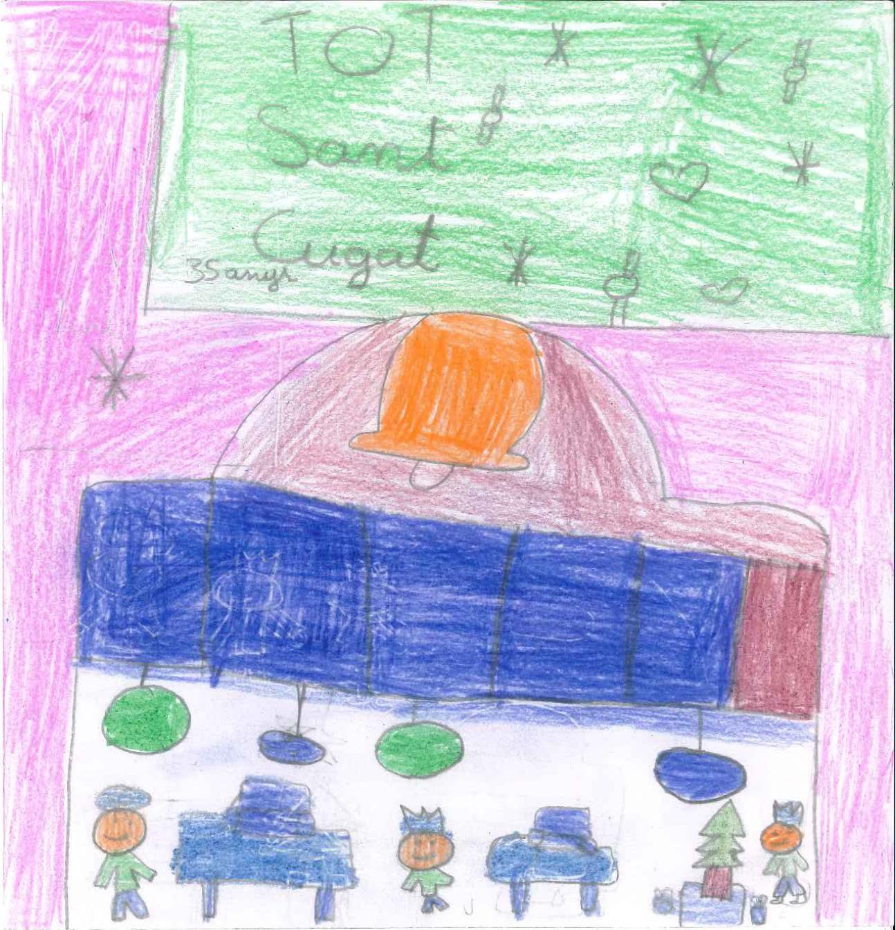 Postals de l'escola Santa Isabel