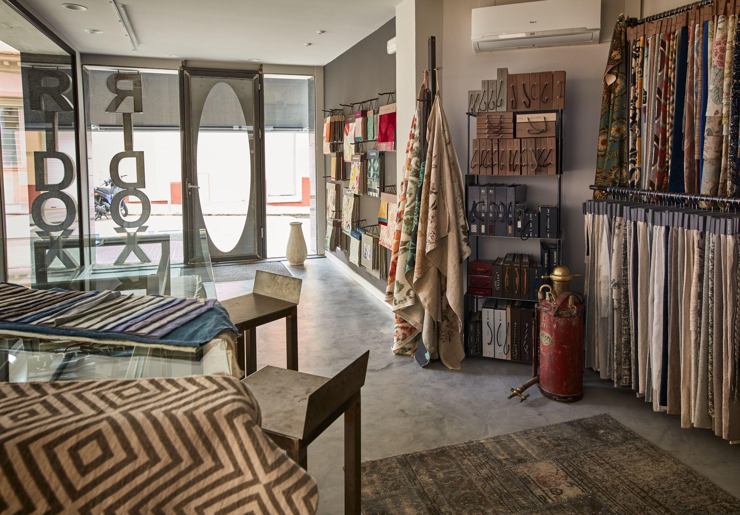 Una mostra de les cortines de RIDOX. FOTO: Cedida