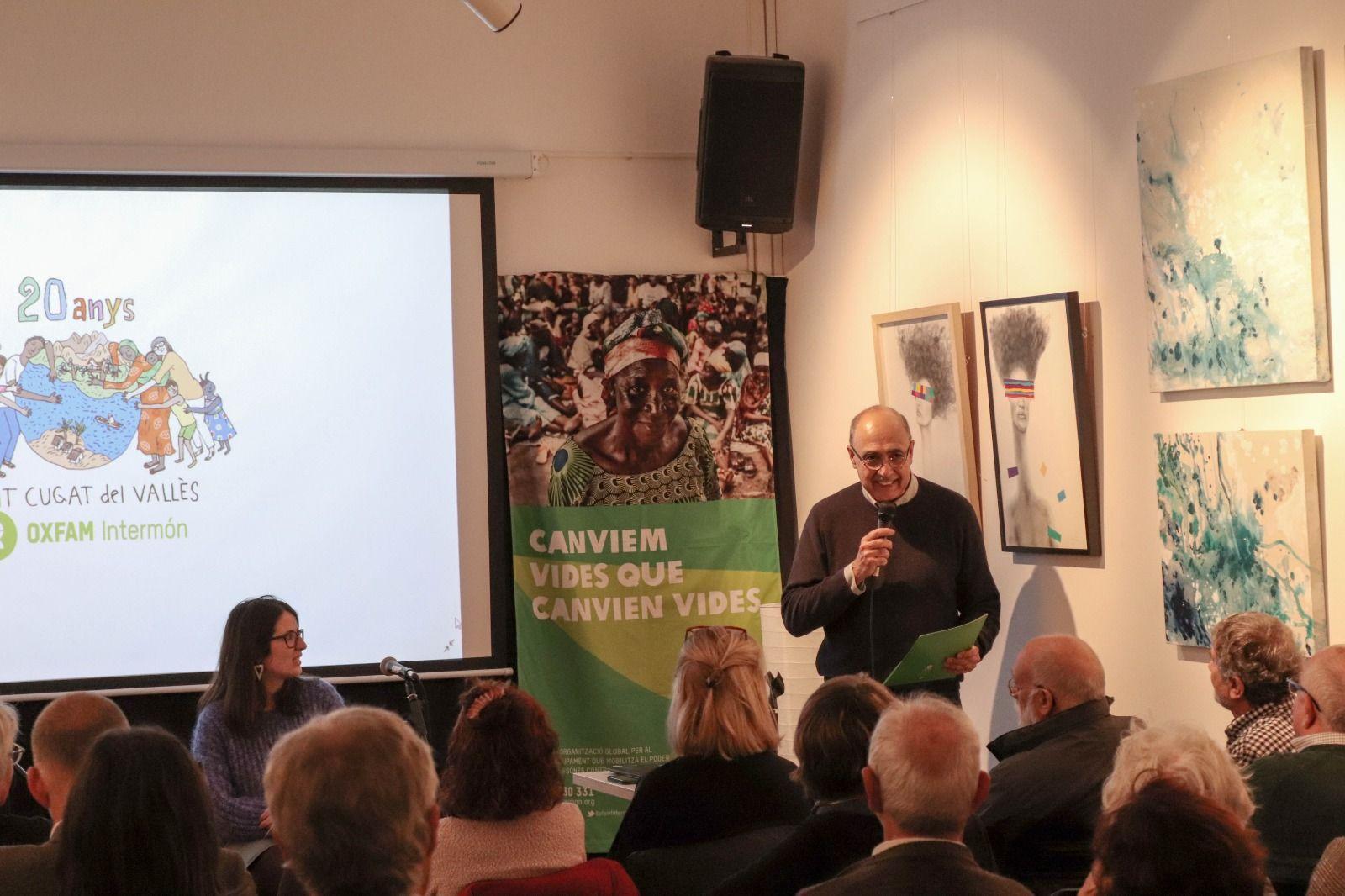 Acte Ateneu Desigualtats Intermon Oxfam. FOTO: Cedida
