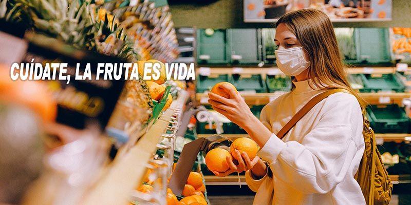campanya consum de fruita al SantCugat Fruits del carrer Castillejos. FOTO: Cedida