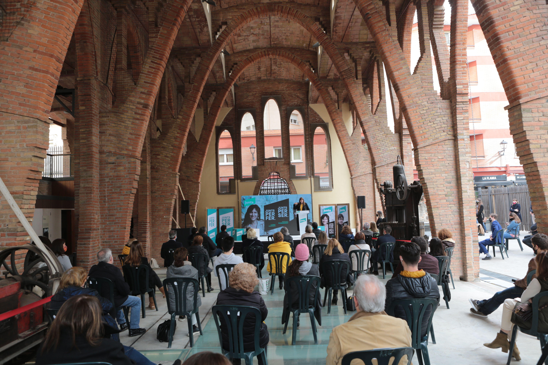 Junts per Catalunya presenta la seva candidatura a les eleccions del 14-F a Sant Cugat. FOTO: Artur Ribera