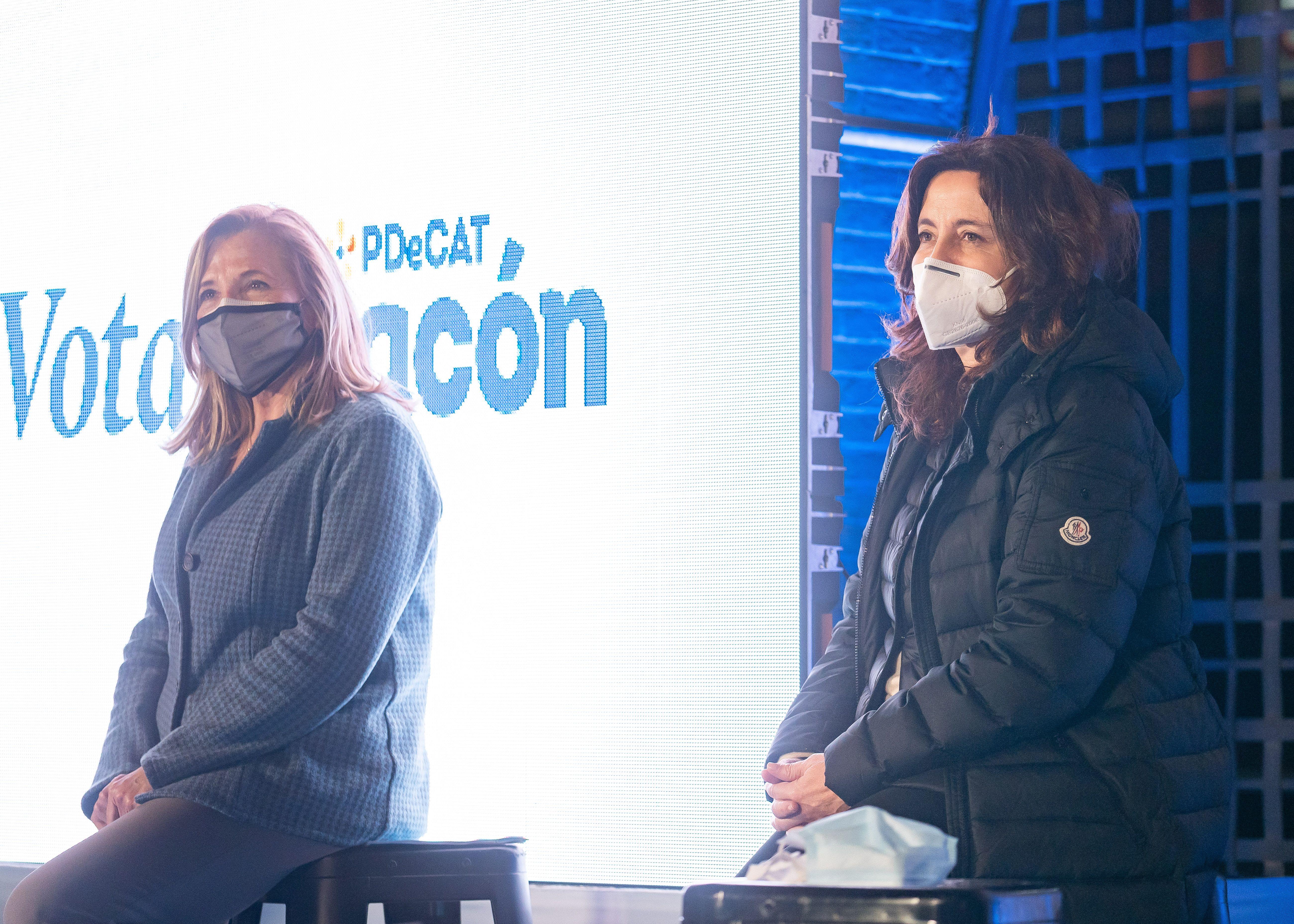 Acte de campanya del PDeCAT a Sant Cugat. FOTO: Mariana Castel