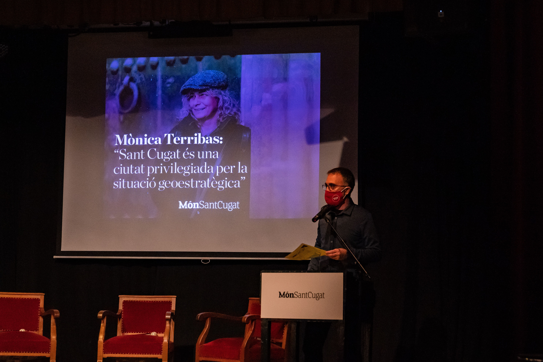 Xavier Grau en la presentació del Món Sant Cugat. FOTO: Mariana Castel