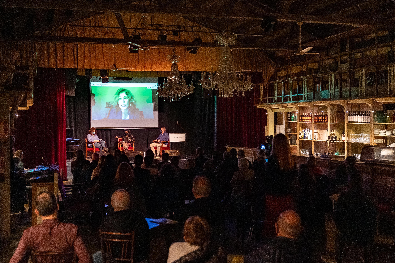 Tertúlia en la presentació del Món Sant Cugat. FOTO: Mariana Castel