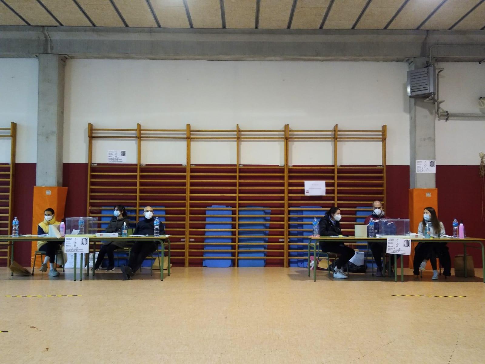 Sant Cugat ha constituït totes les meses electorals. FOTO: Estefania Bedmar
