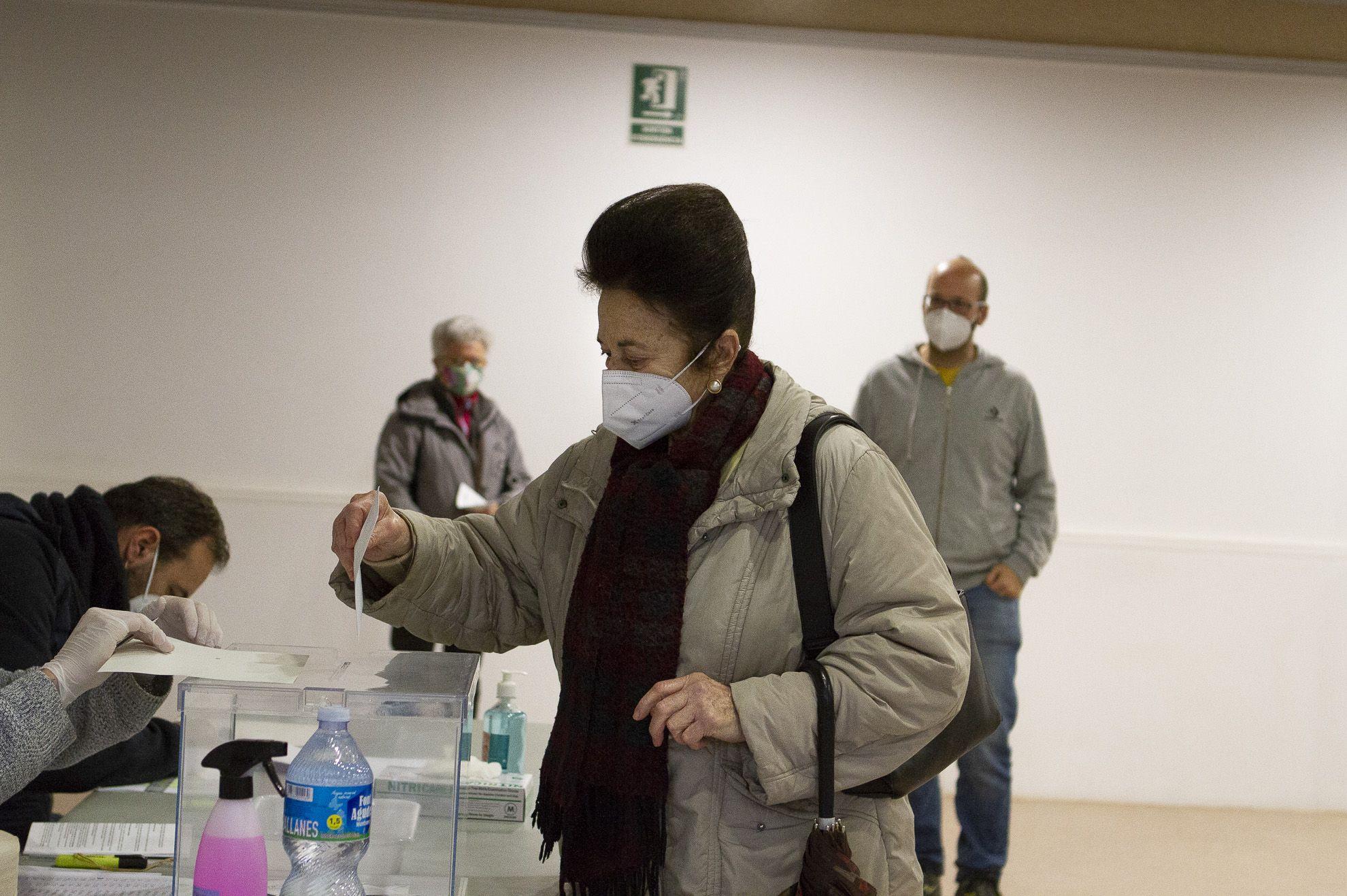 Eleccions al Parlament de Catalunya. FOTO: Estefania Bedmar