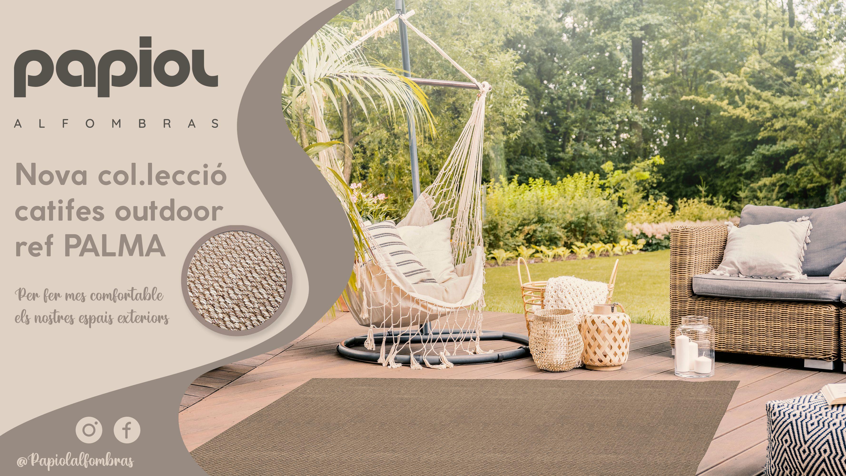 Nova col·lecció de catifes outdoor de Papiol. FOTO: Cedida