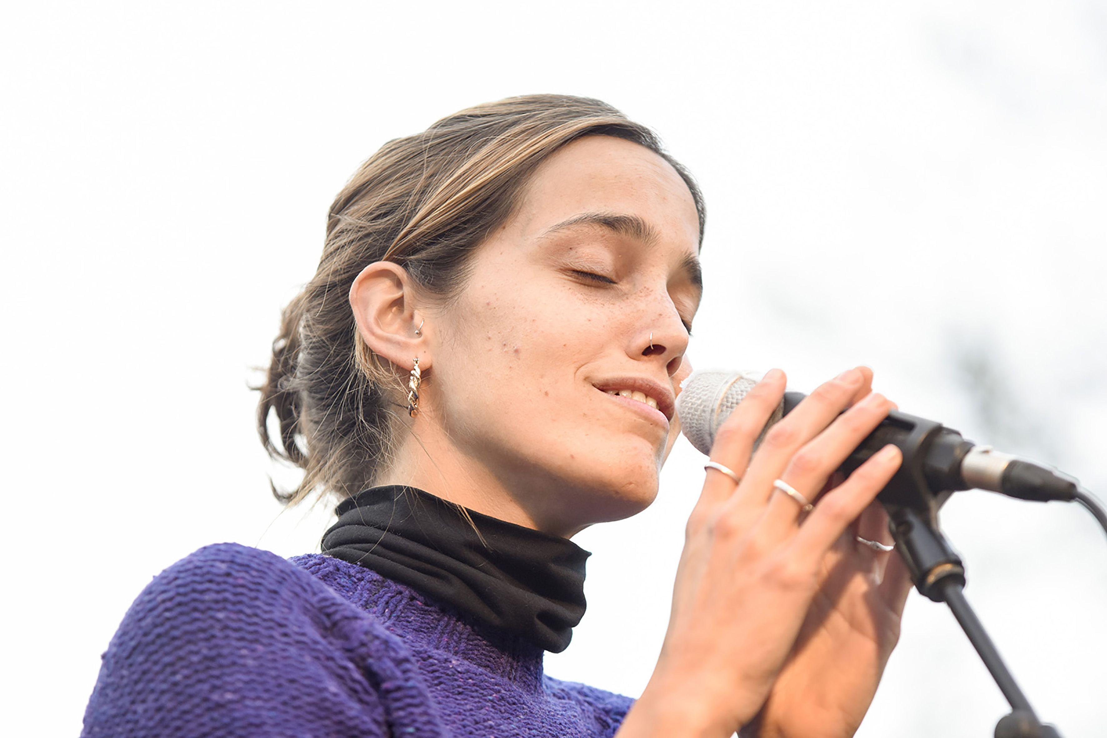 Concert de les Pasquines. Estrogenfest. Foto: Bernat Millet.