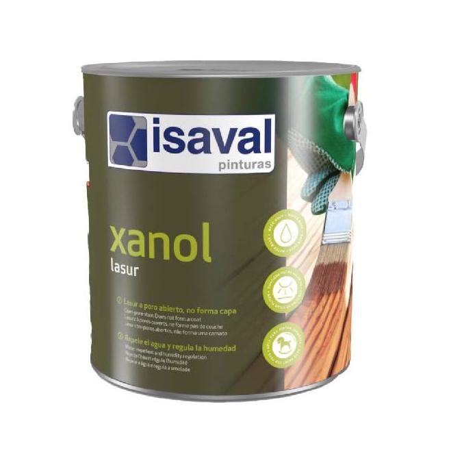 El producte Lasur Xanol d'Isaval FOTO: Cedida