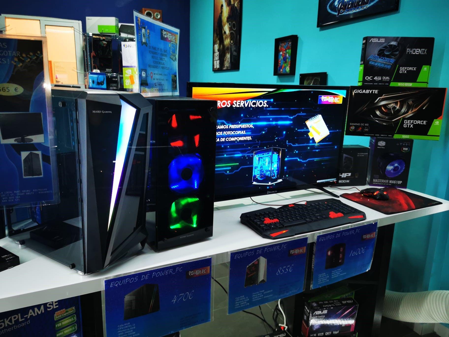 Equips informàtics de qualitat a POWER PC. FOTO: Cedida