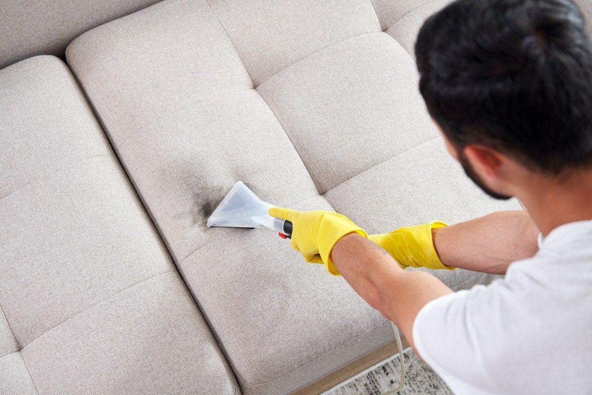 Ecoclean, especialitzats en neteja de tapisseria. FOTO: Cedida