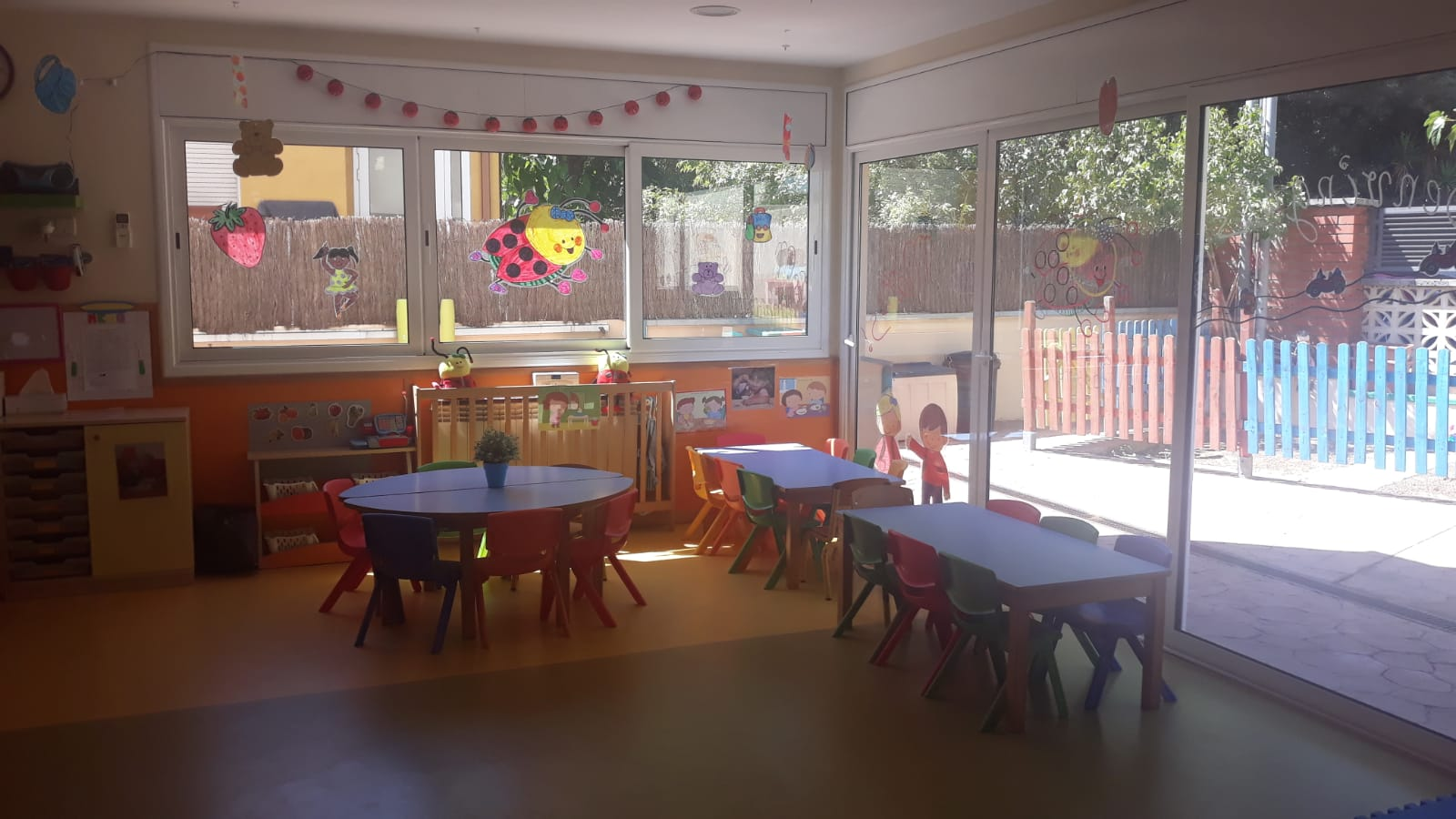 Aula escola bressol Mirasolet. FOTO: Cedida