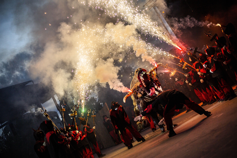 diablesSC20Els Diables han sortit al carrer amb la Trobada de Bèsties. FOTO: Àngel Bravo
