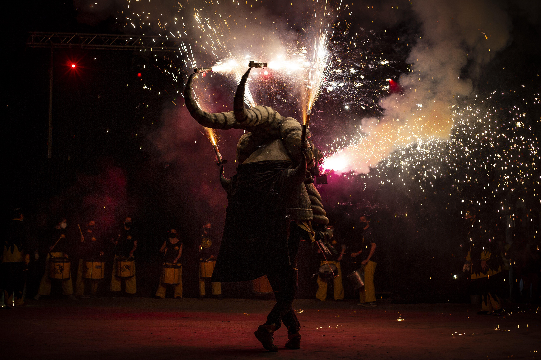 Els Diables han sortit al carrer amb la Trobada de Bèsties. FOTO: Àngel Bravo