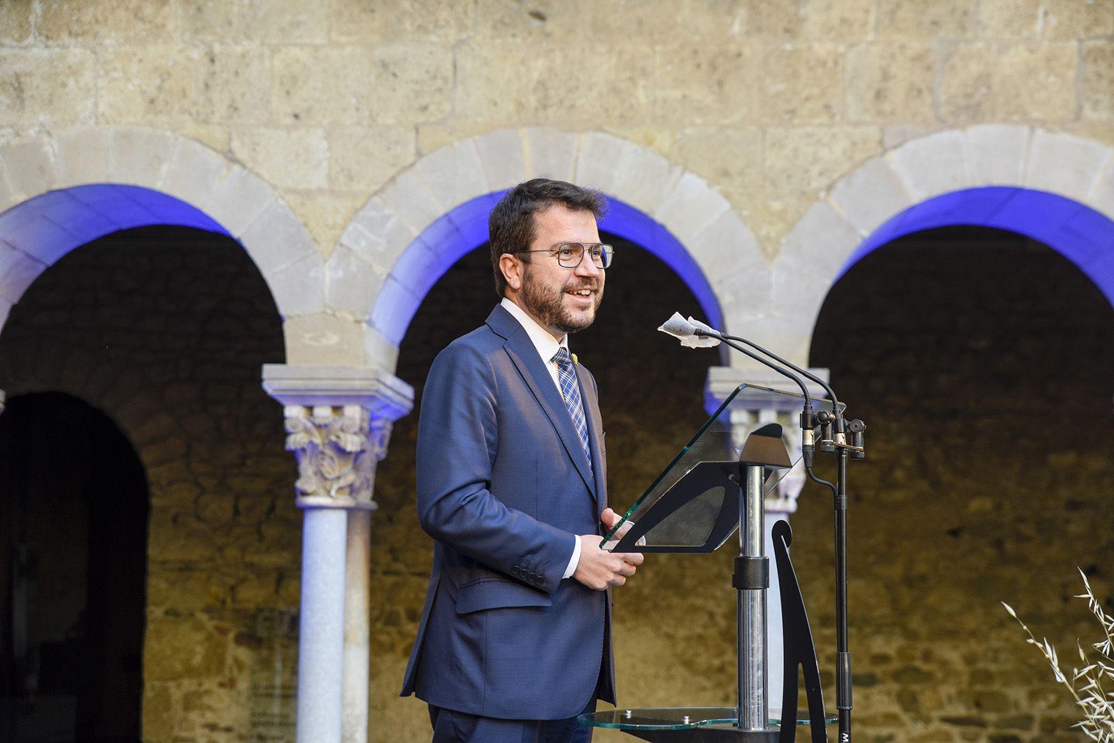Record a Arcadi Oliveres. Foto: Bernat Millet.