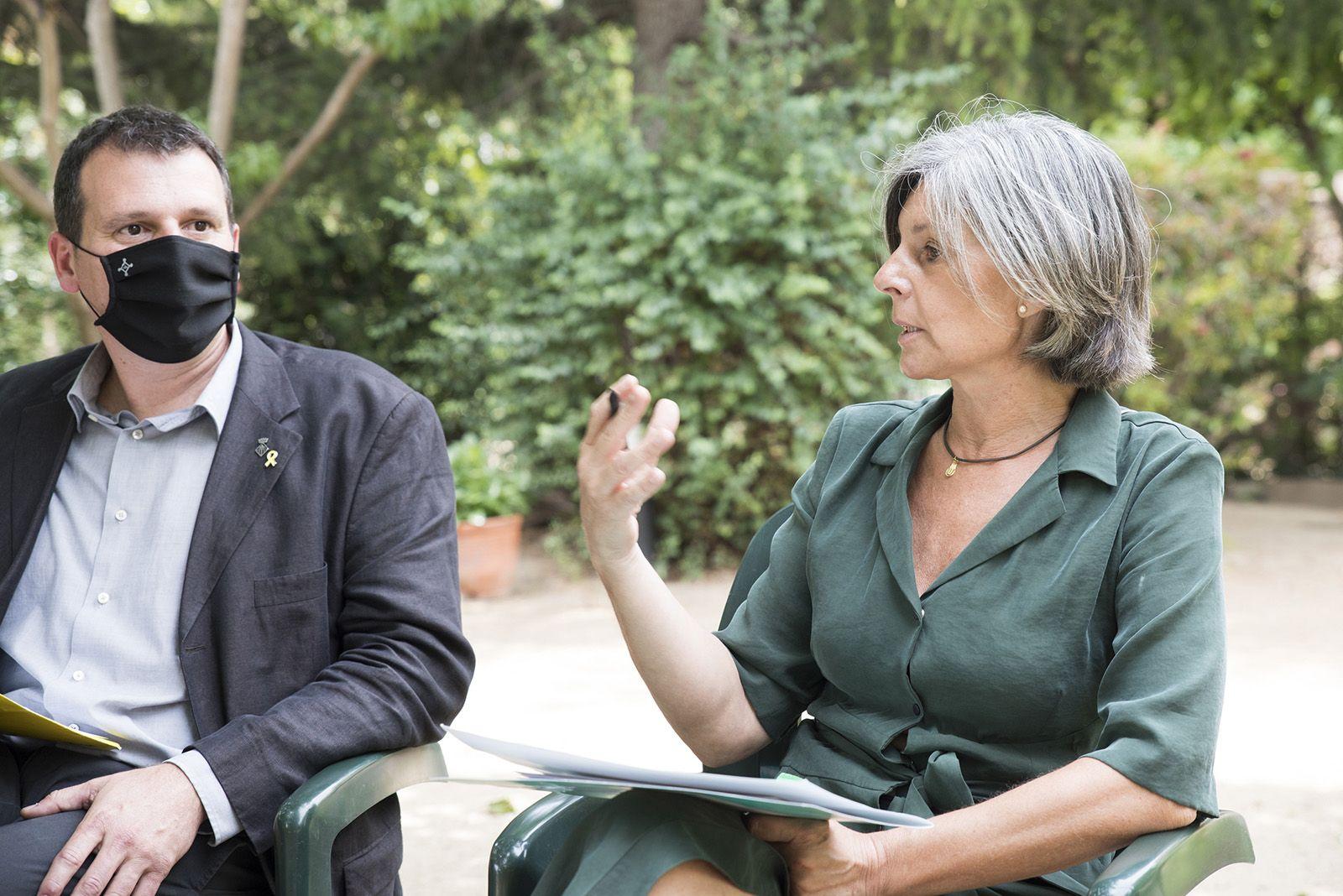 Debat polític dels dos anys de mandat. Foto: Bernat Millet.