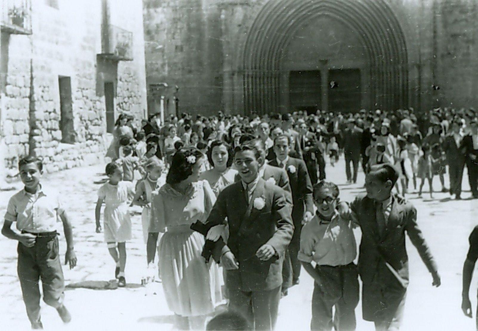Paga-li Joan de Festa Major als anys quaranta. Foto: Arxiu