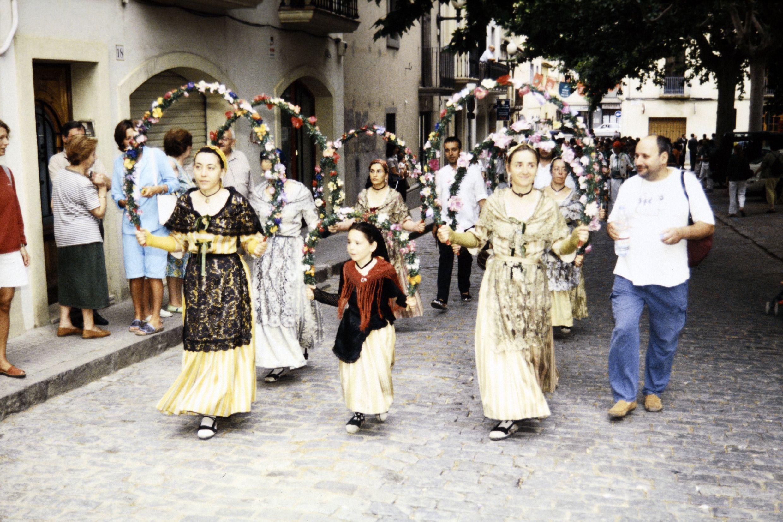 Seguici de Sant Pere, Festa Major del 2002. FOTO: Arxiu