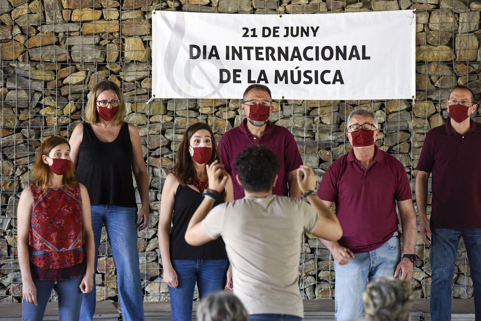 Backline Choir. Foto: Bernat Millet.