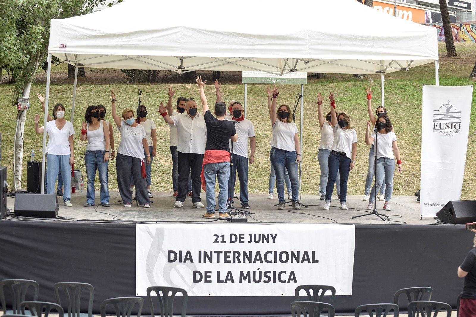 Rock Choir Fusió. Foto: Bernat Millet.