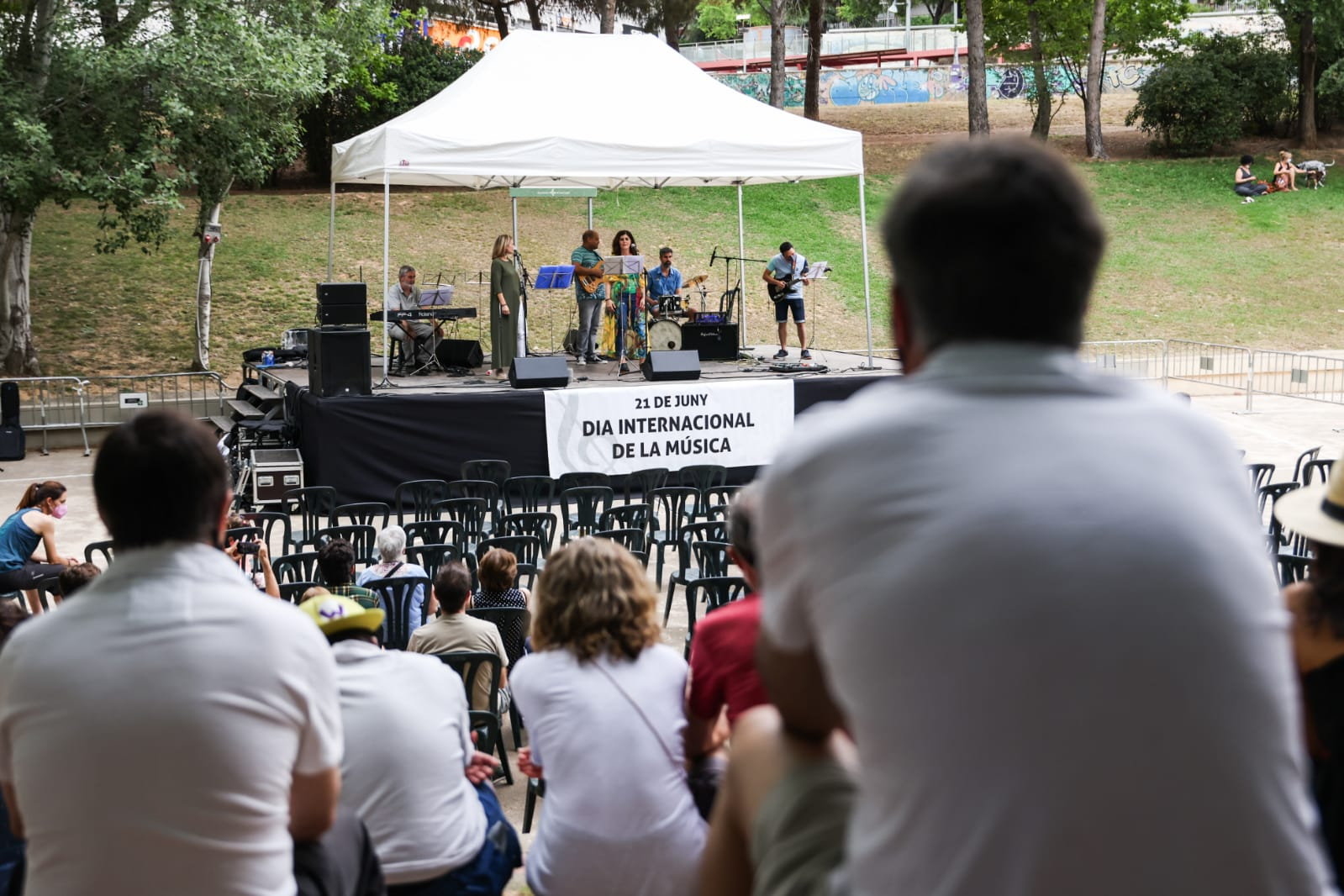 Sant Cugat viu el Dia Mundial de la Música. Foto: Lali Puig