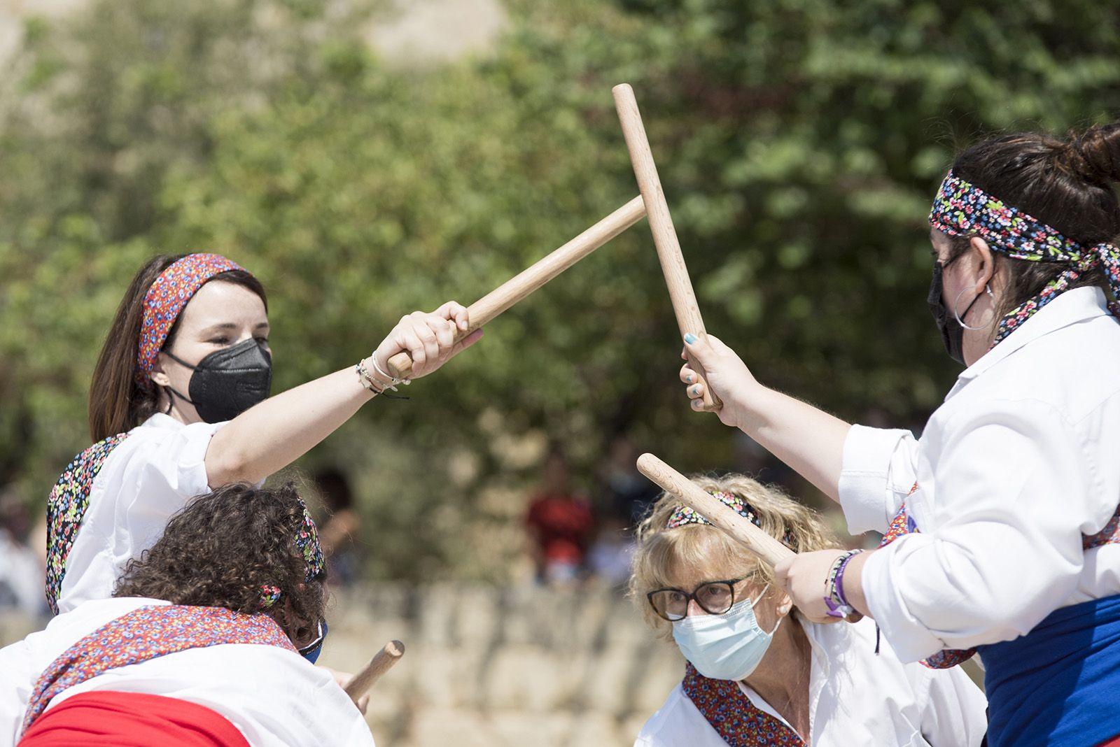 Ball de caparrots i mostra d'entremesos. Foto: Bernat Millet.