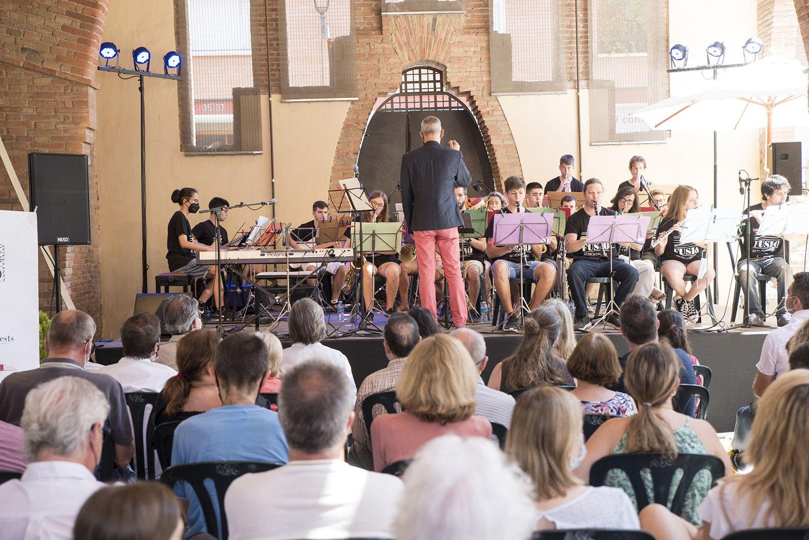 Concert de swing. Foto: Bernat Millet.