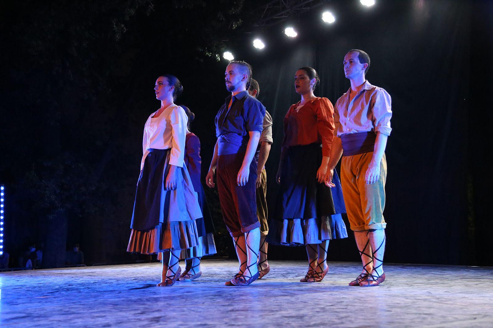 """Espectacle """"Temps de dansa"""" del Grup Mediterrània. Foto: Anna Bassa"""
