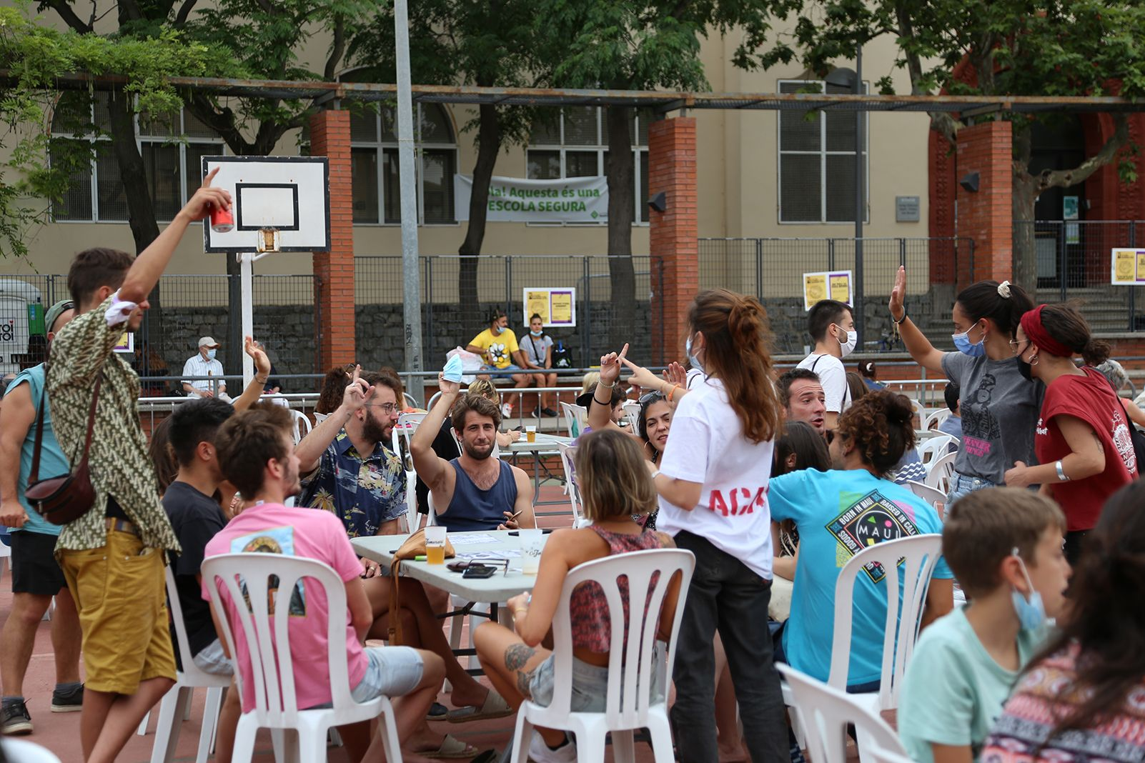 Monòlegs a la Festa Major Alternativa. Foto: Anna Bassa