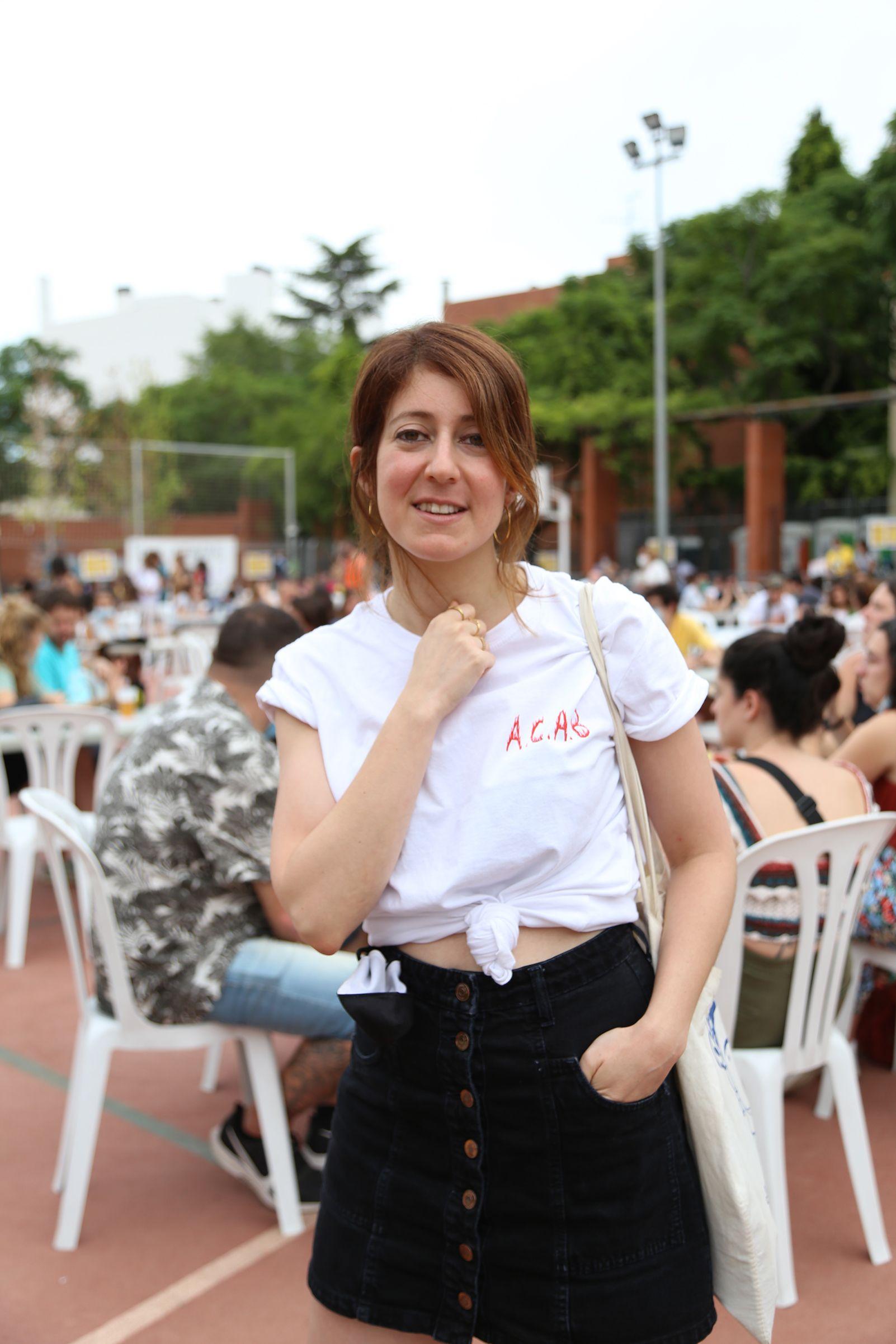 Marta Bosch, humorista a la FMA. Foto: Anna Bassa