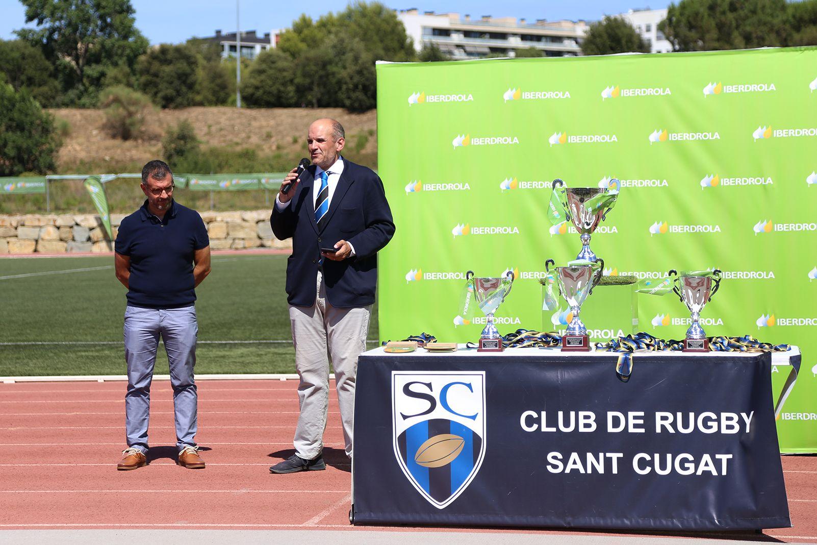 Entrega de premis de la Copa de la Reina de Rugby. Foto: Anna Bassa