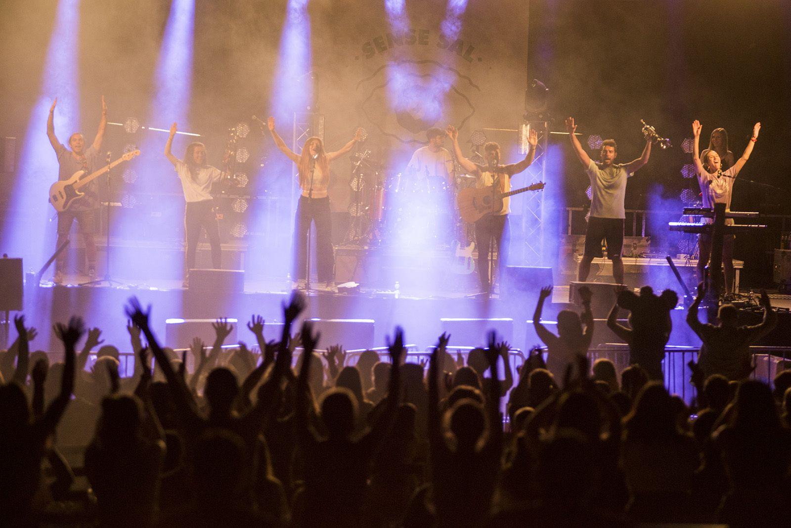 Sense sal, en concert. Foto: Bernat Millet.