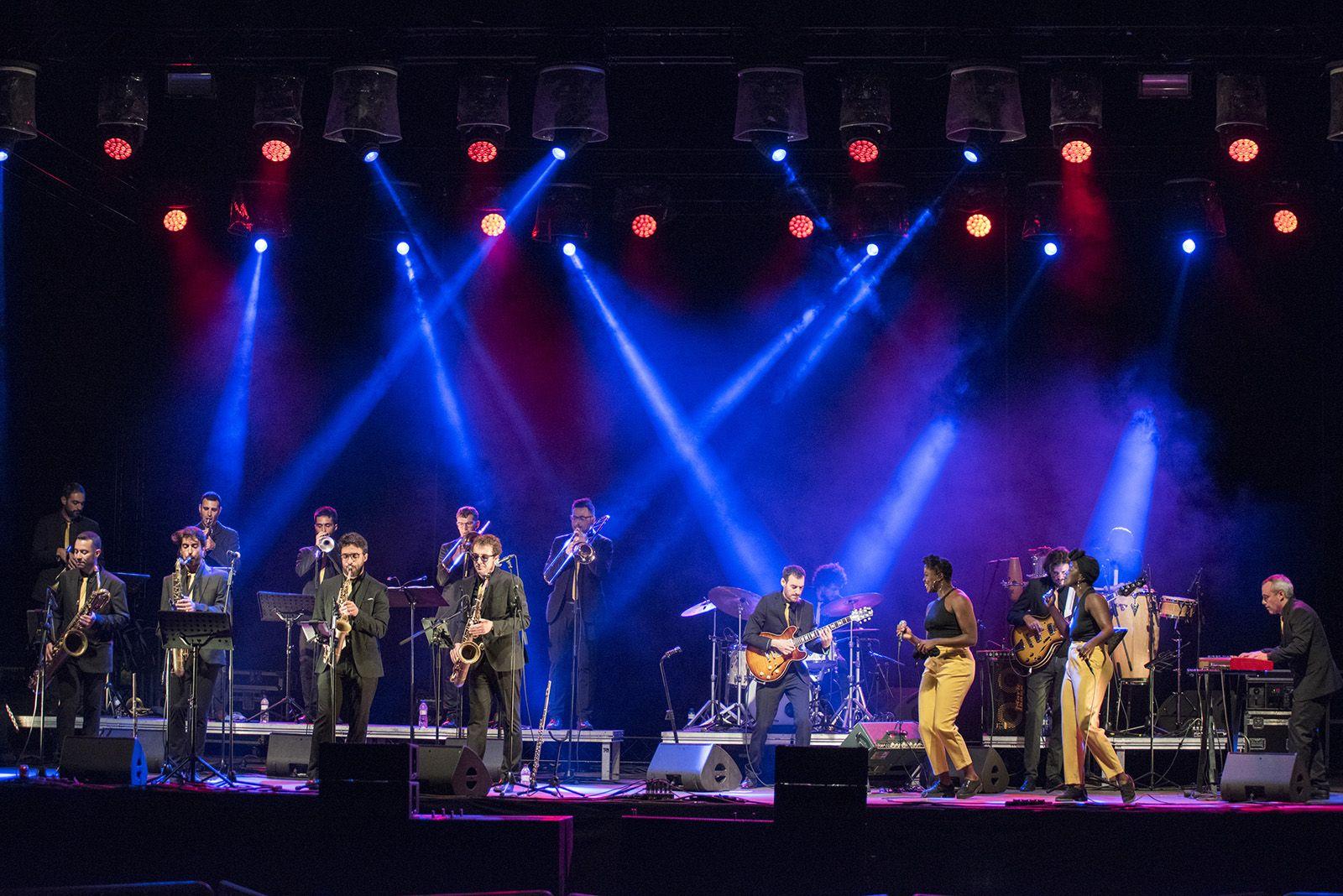 The Gramophone AllStars Big Band. Foto: Bernat Millet.