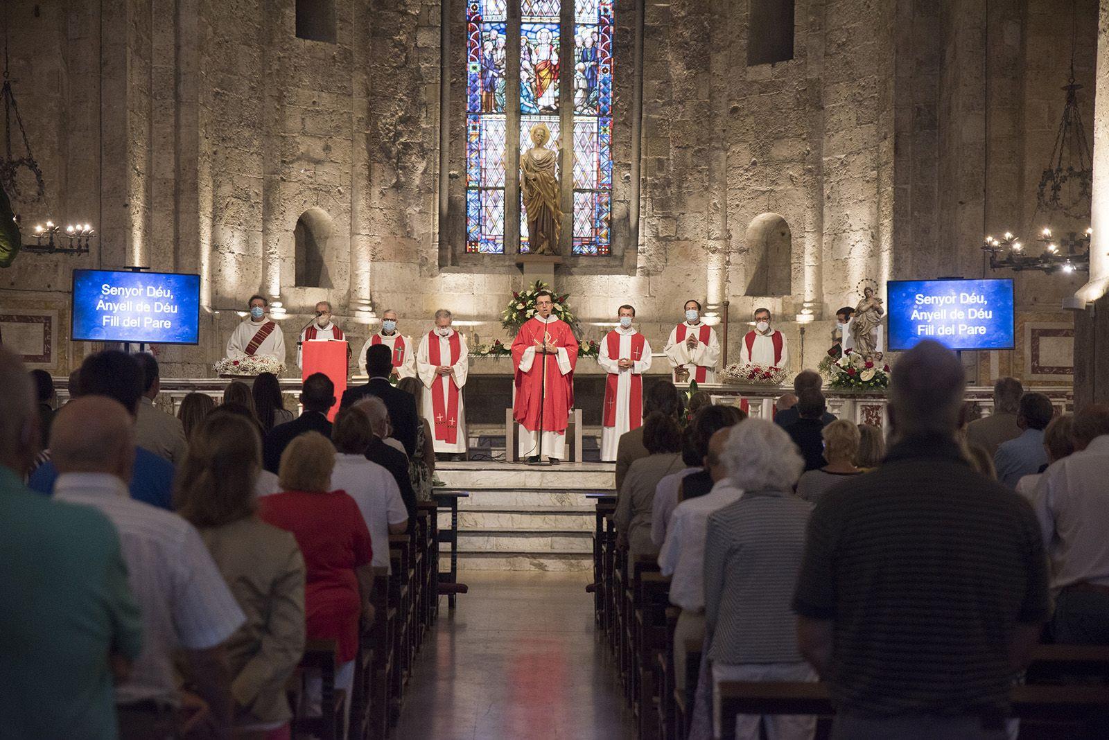 Misa de Sant Pere. Foto: Bernat Millet.