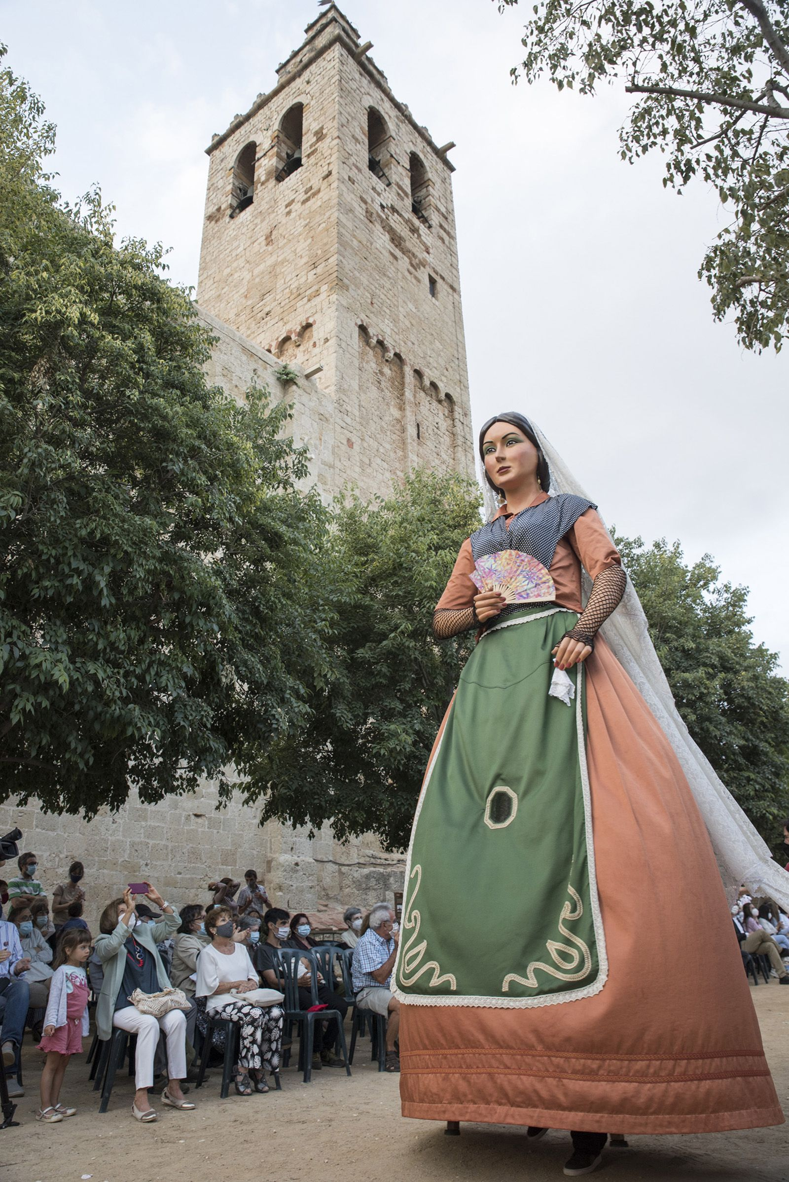 Mostra dels entremesos dels Seguicis festius de Sant Cugat. Foto: Bernat Millet.