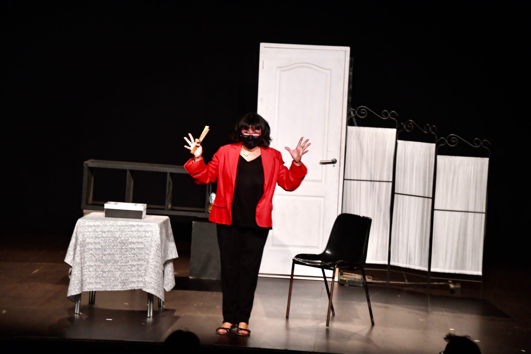 Teatre 'Quatre píndoles' a Mira-sol. FOTO: Jordi Garcia