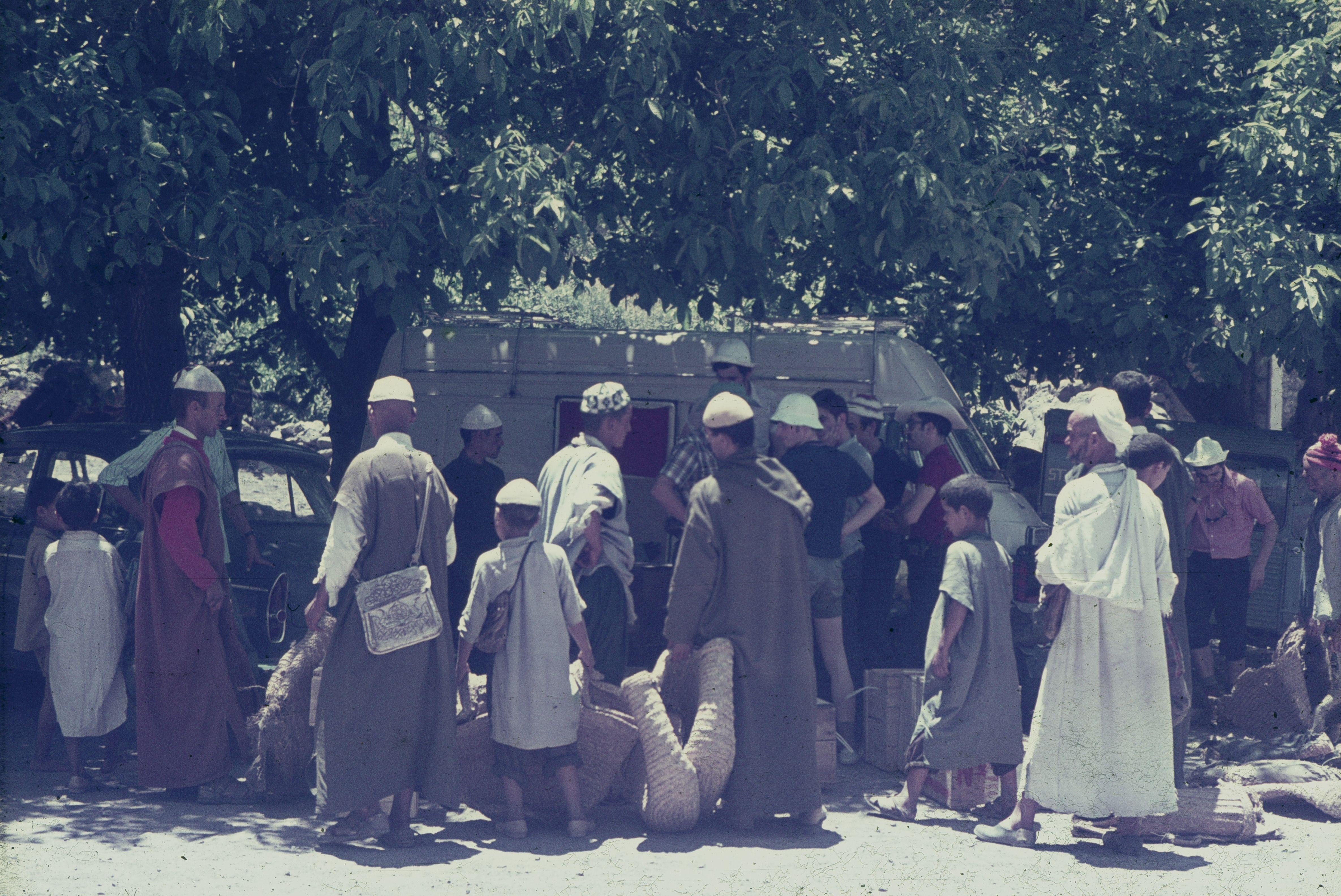 contractant portadors a Imlil