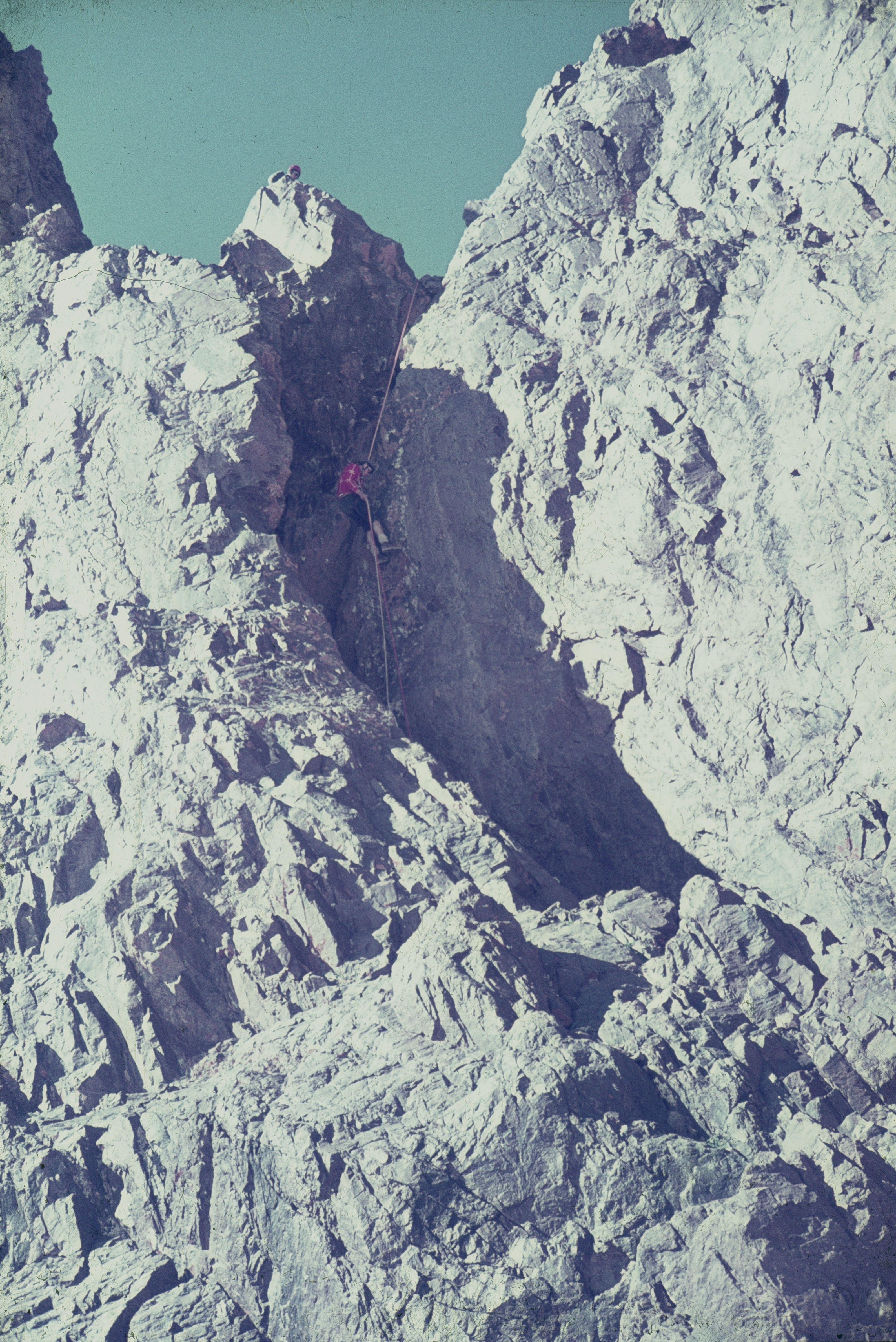 baixant del akiud sud de 4010 m