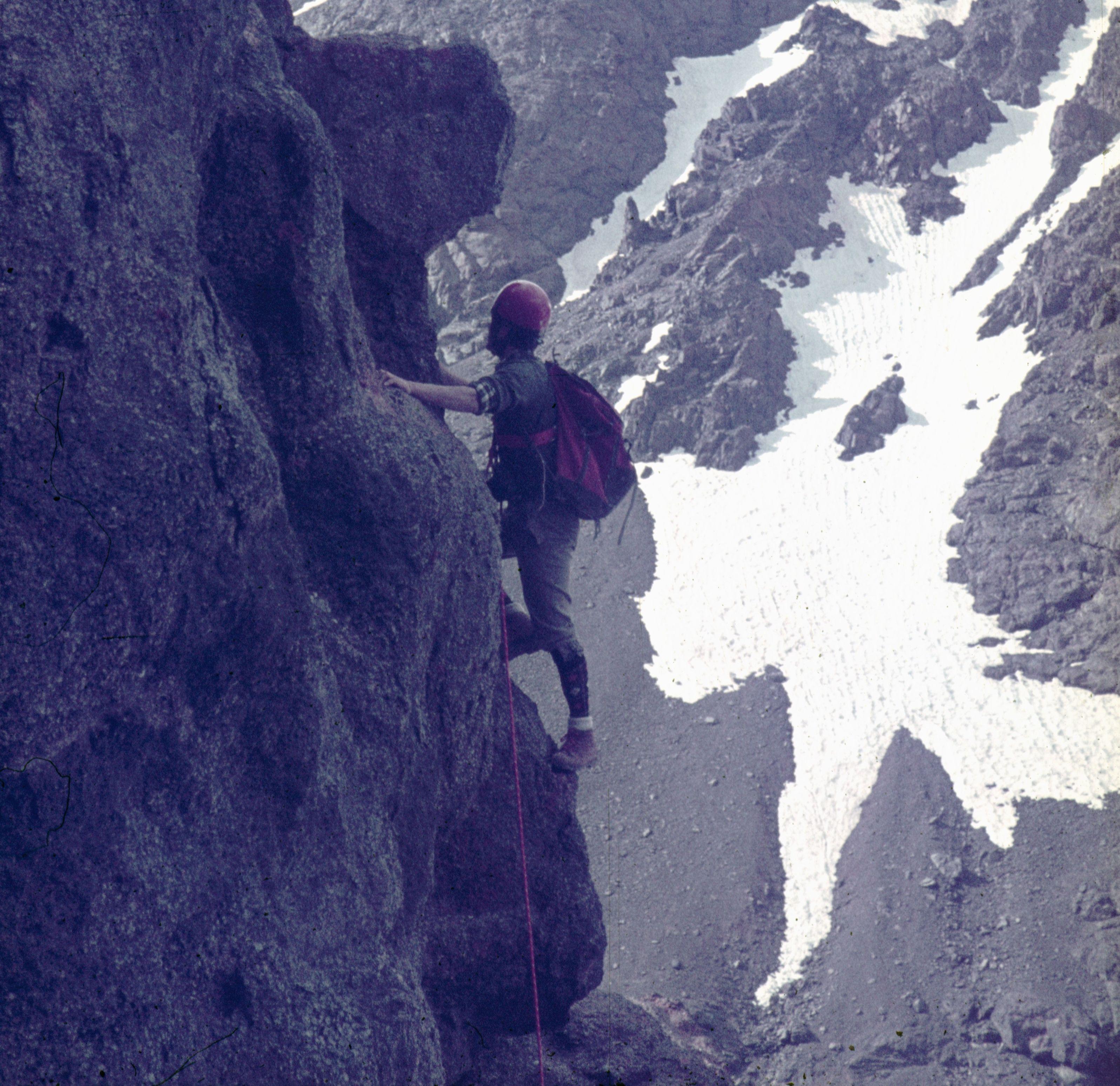 aresta nord - oest al toubkal 4.165 m