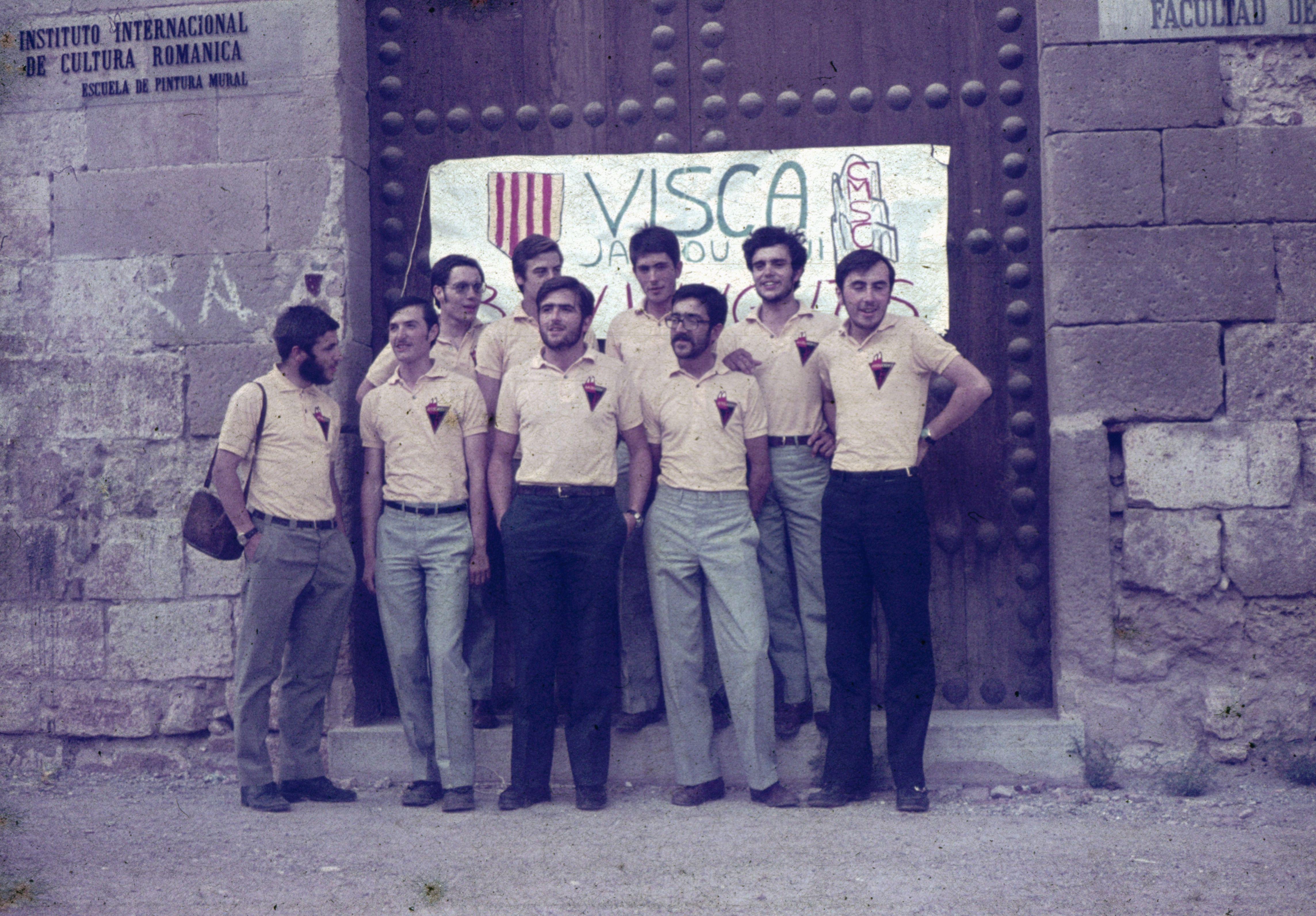foto de grup a la tornada a Sant Cugat