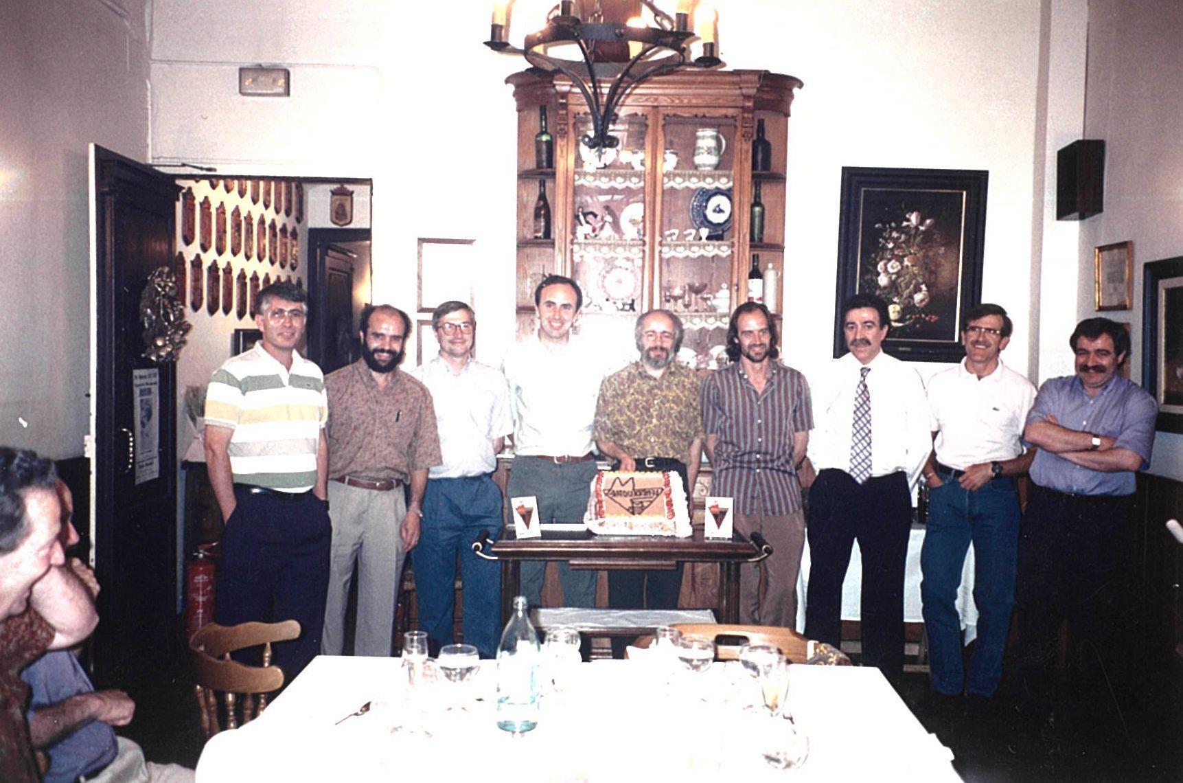 Celebració dels 25 anys al Mesón