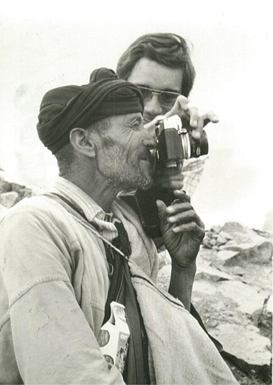 Pastor amb càmera