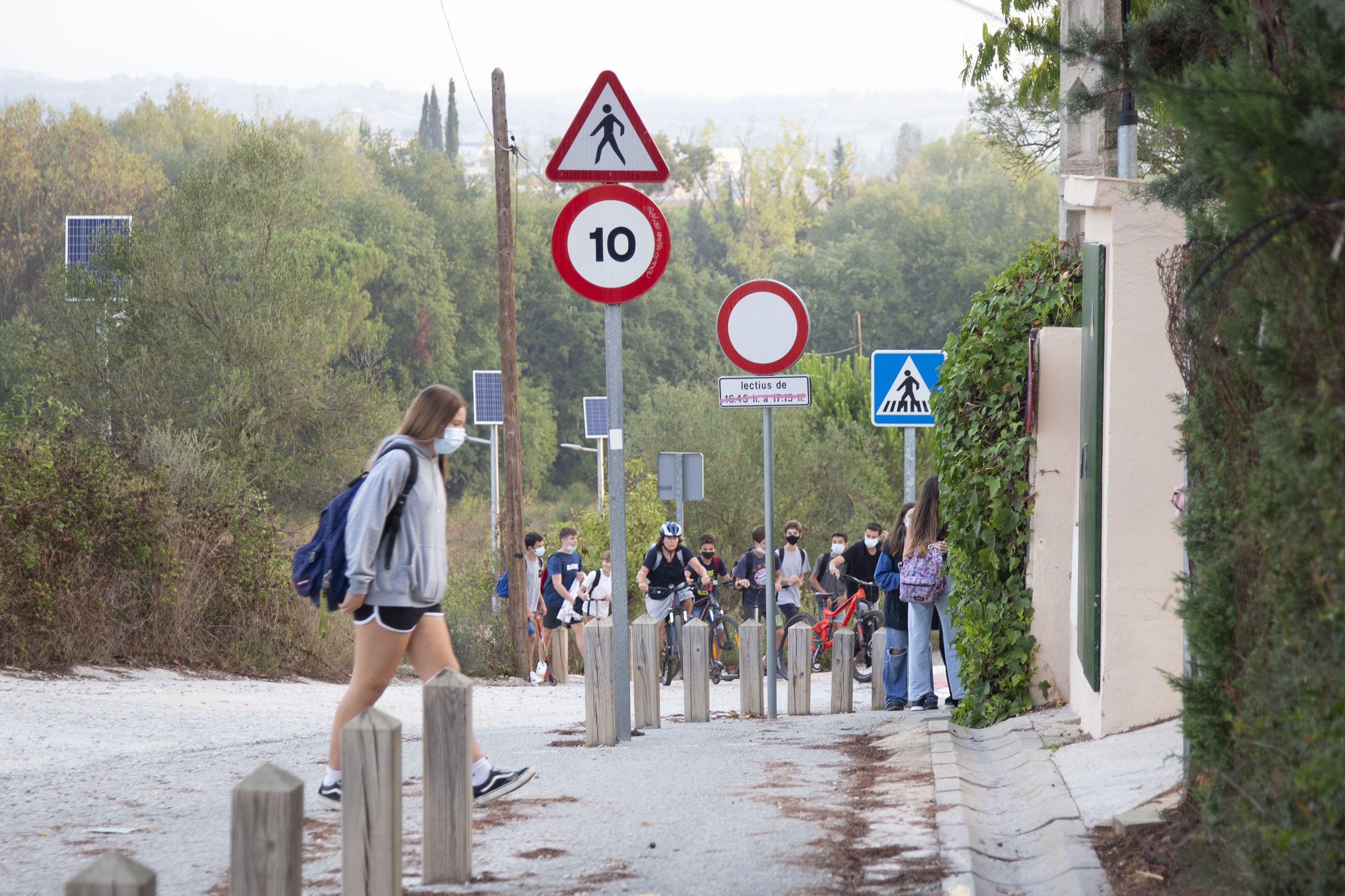 Primer dia d'escola a l'Avenç. Foto: Anna Bassa