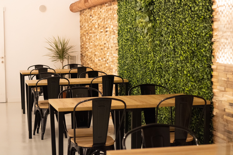 Interior del restaurant de Sant Cugat BrunchIT. FOTO: Cedida