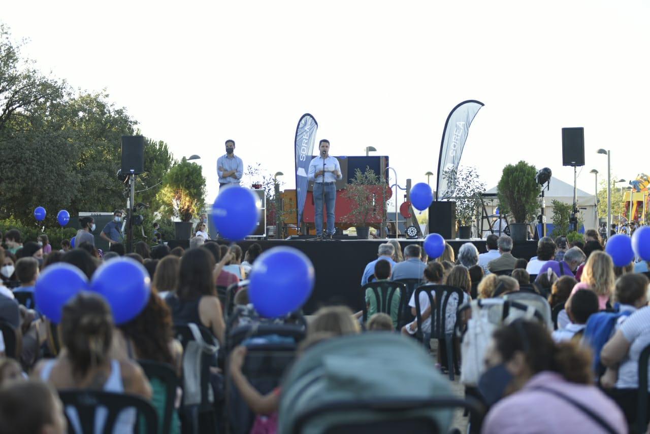 El pregó de la Festa Major de Volpelleres. FOTO: Bernat Millet