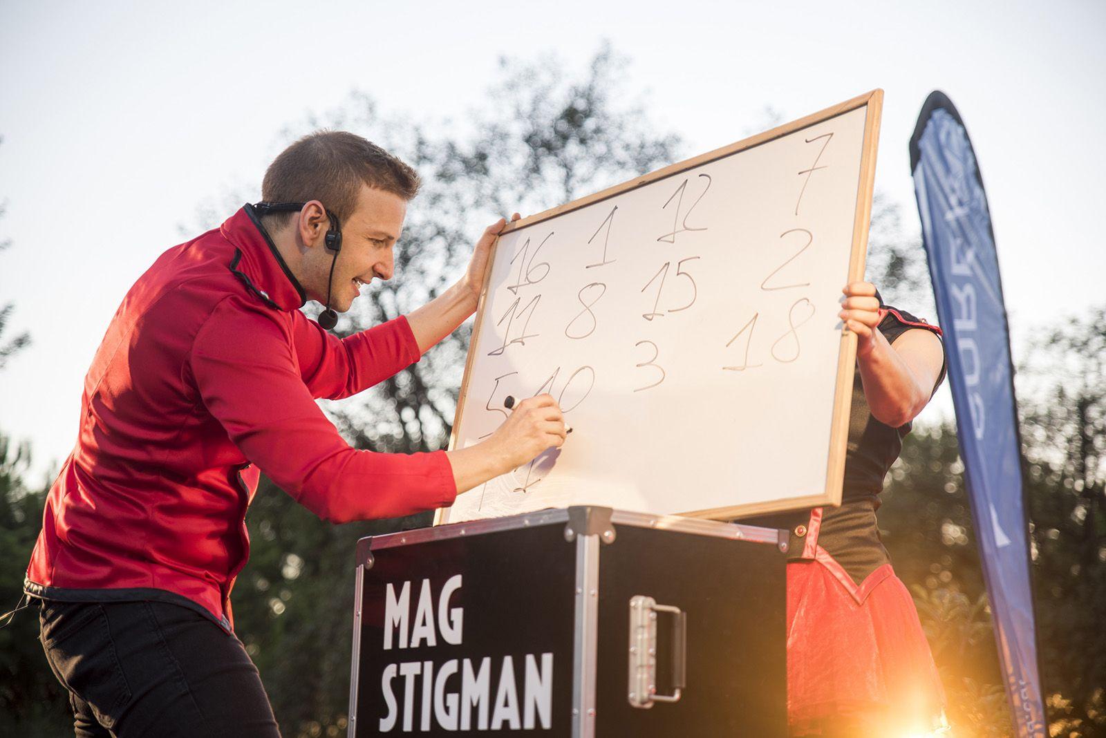 Espectacle de magia del Mag Stigman. Foto: Bernat Millet.