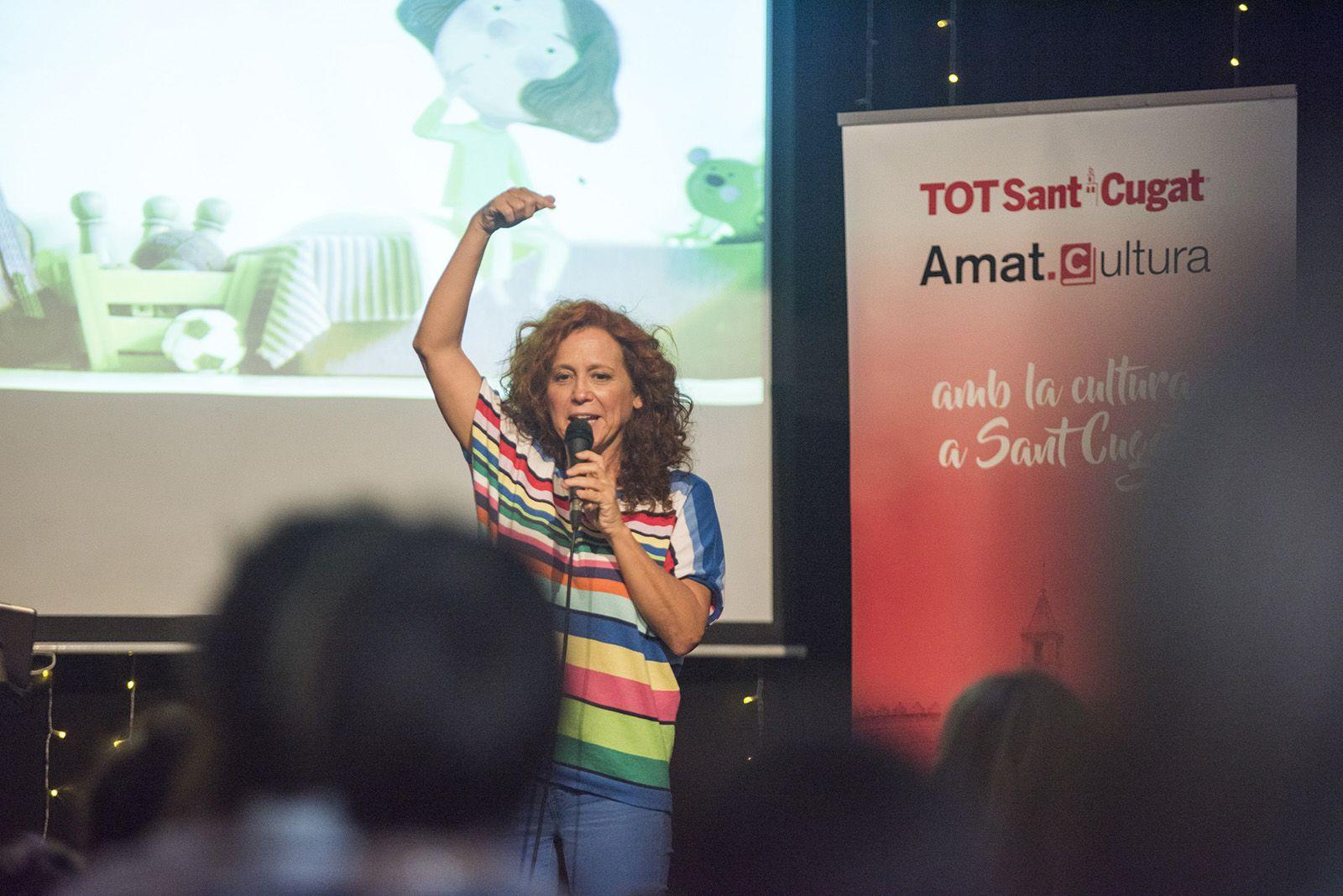 Presentació dels llibres de Dàmaris Gelabert. Foto: Bernat Millet.