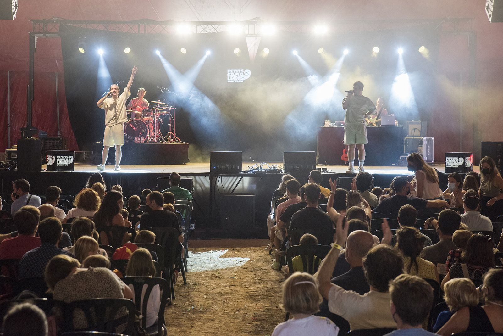 The Tyets al festival Petits Camaleons. Foto: Bernat Millet.