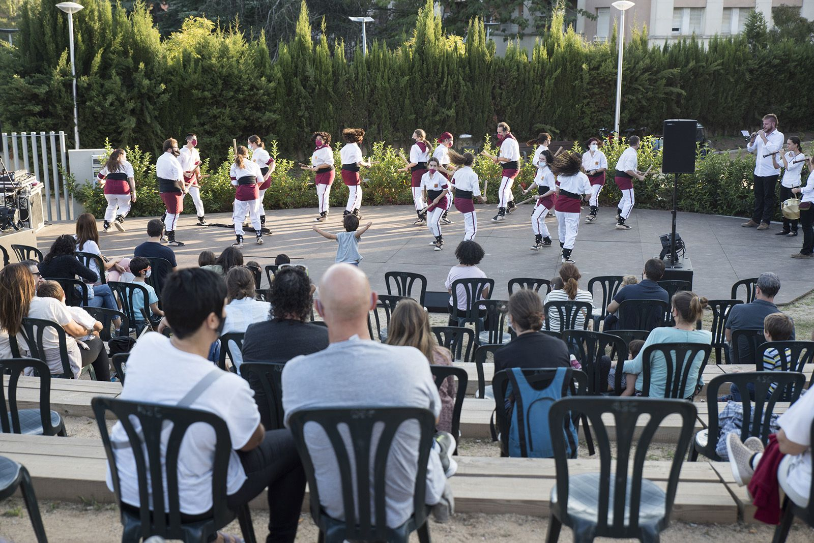 Mostra de cultura popular de la Festa Major del Monestir - Sant Francesc. Foto: Bernat Millet.